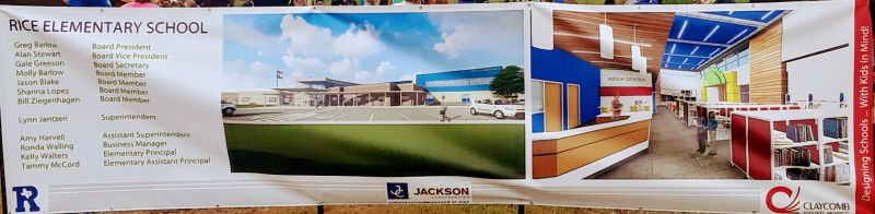 Plans for New Elementary School